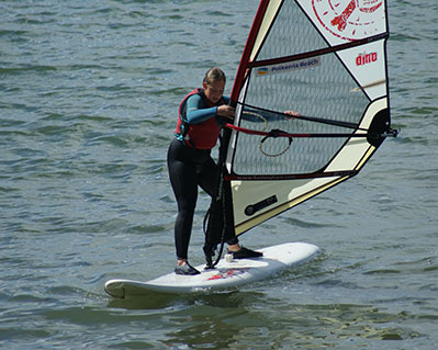 1 Windsurfing Lesson Cornwall
