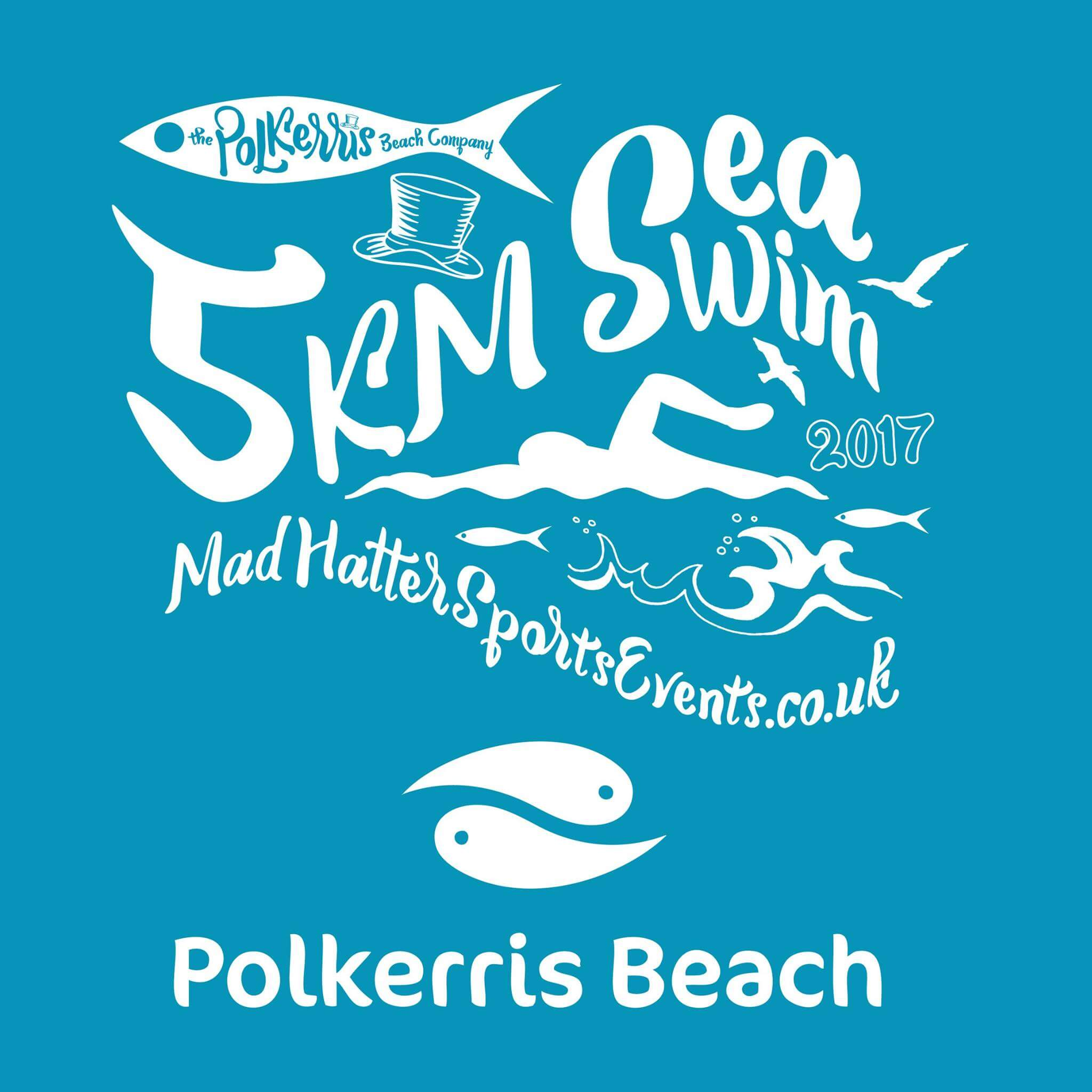 5km swim cornwall