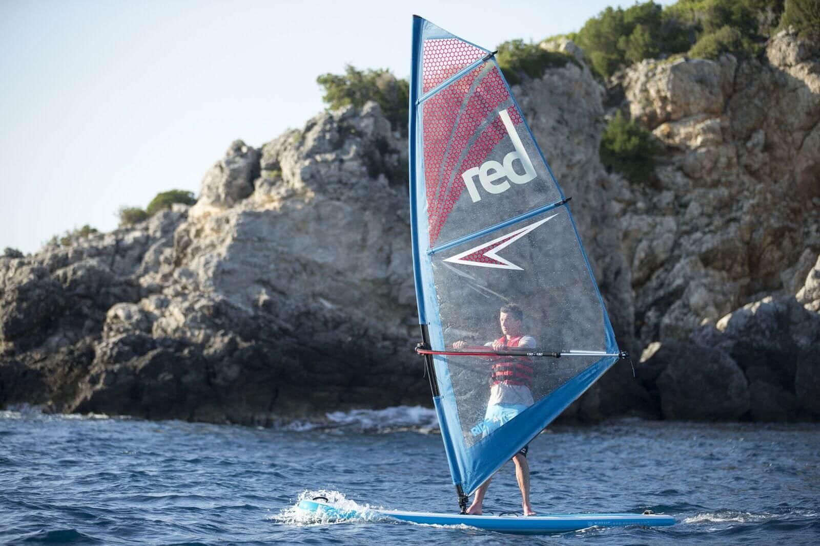 windsurfing lesson cornwall