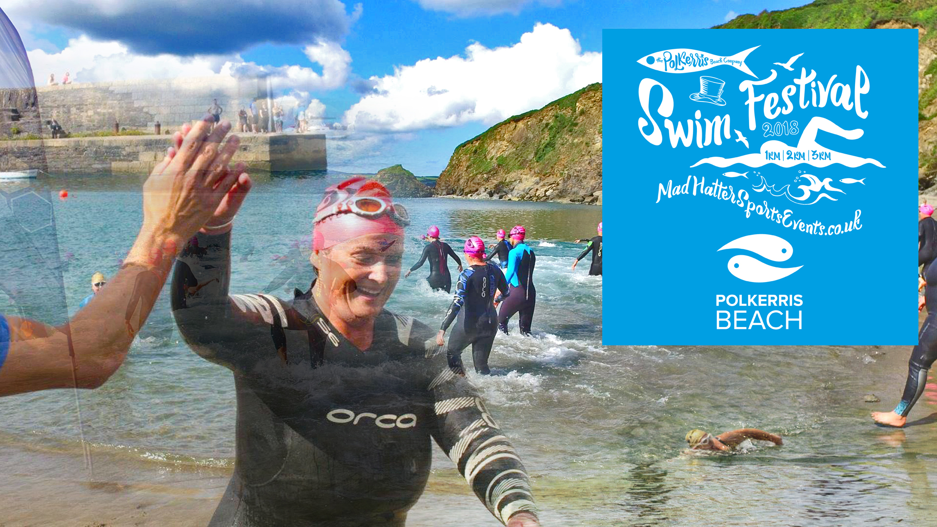 Sea Swim Festival Cornwall 2018