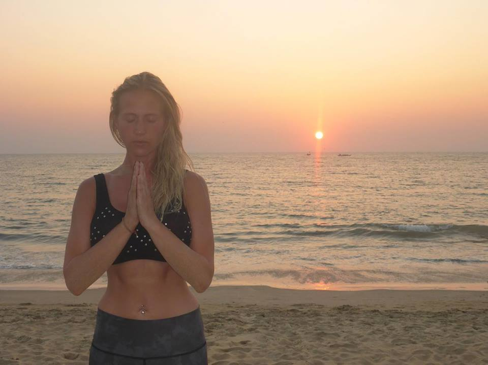 Beach Yoga Workshop summer 2018 Cornwall Cornwall