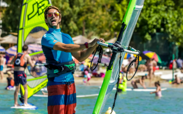 Craig Weeks Chief Instructor Watersports Windsurfing