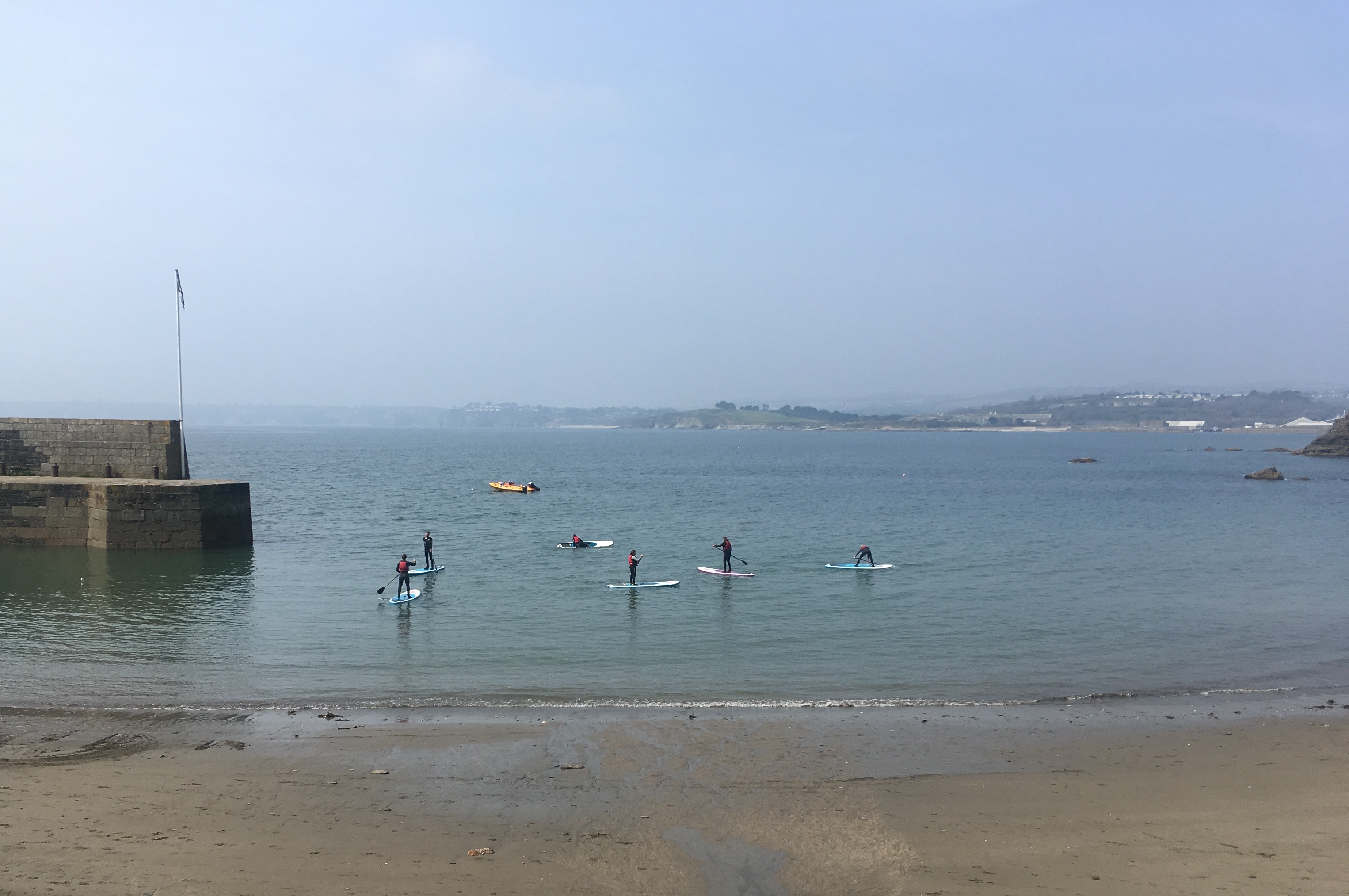 SUP Instructor Polkerris Beach