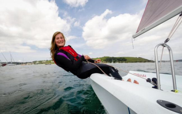 Jess Ball Watersposrt Instructor Cornwall