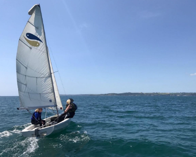 Ladies Group Sailing Polkerris