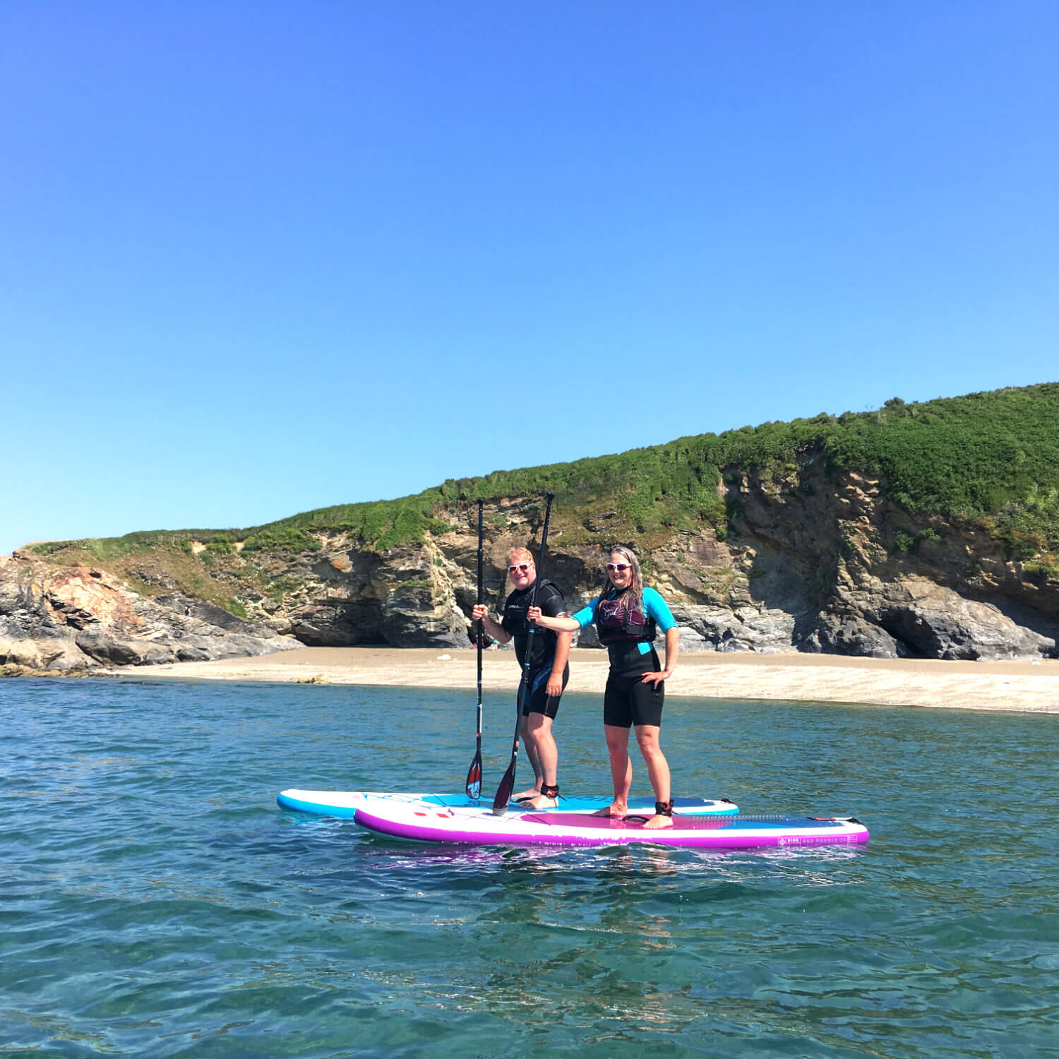 Couples Gift Vouchure Stand Up Paddleboarding (SUP) Cornwall