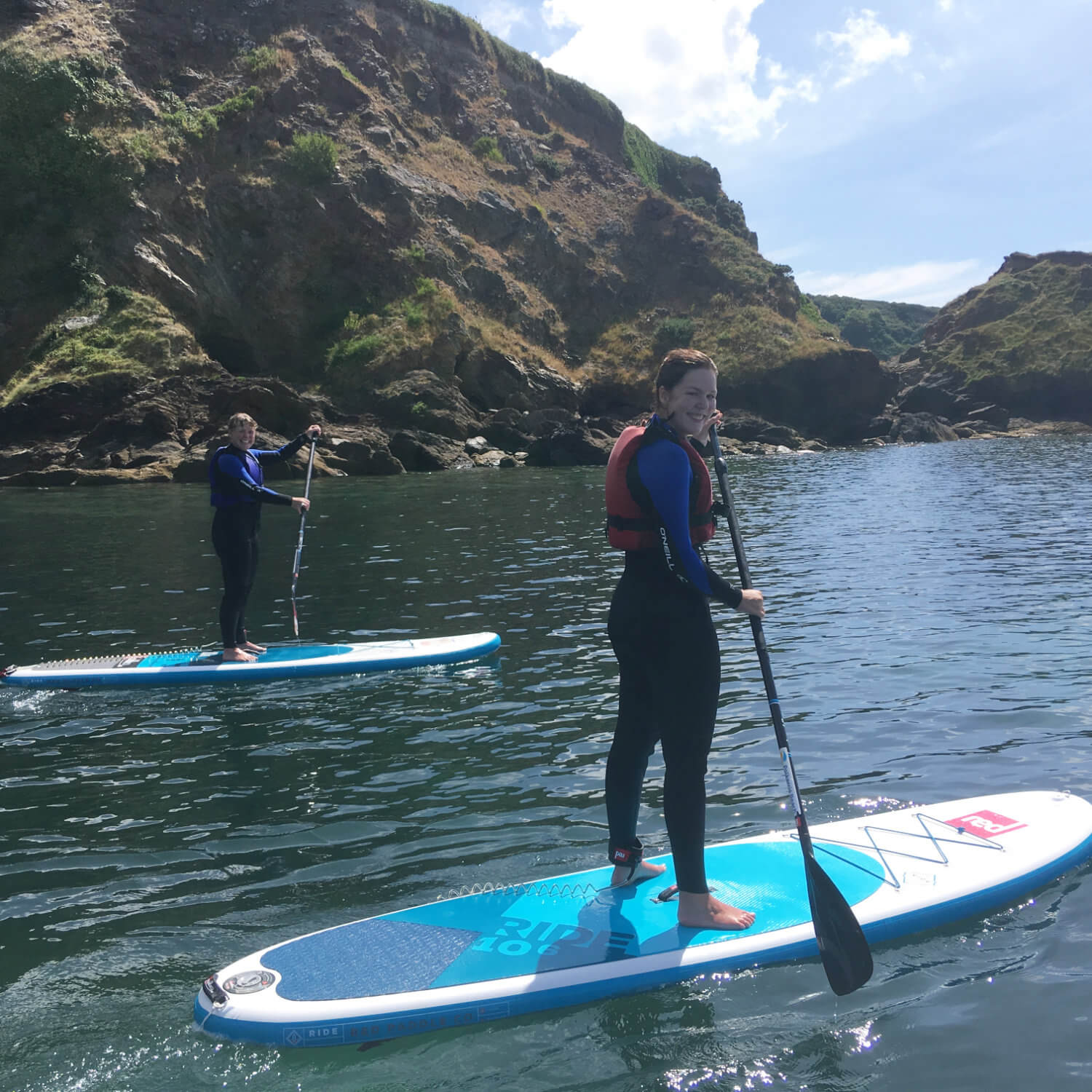 mum and daughter SUP experience gift voucher