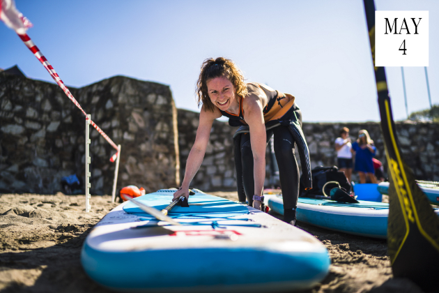 5km Stand Up Paddle Boarding Race Cornwall 2019