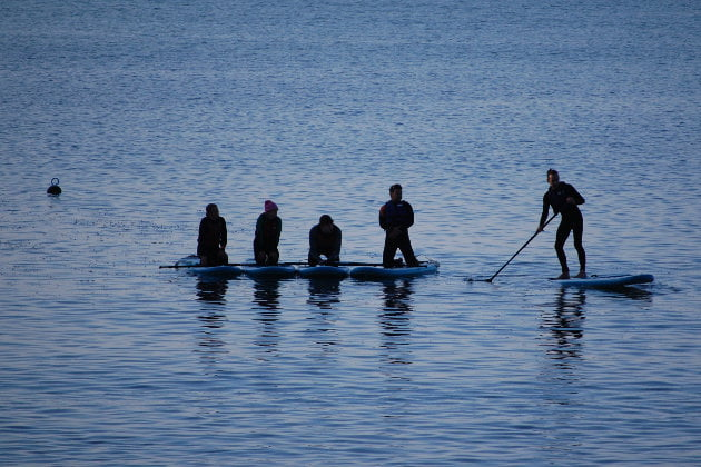 SUP Instructor Training Course Cornwall