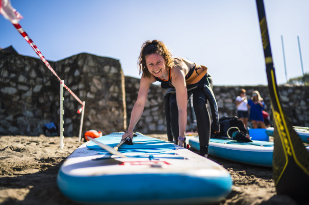 SUP Race 5km cornwall 2019
