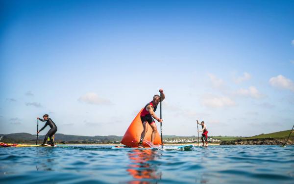 SUP & Swim Race Events Cornwall 2019