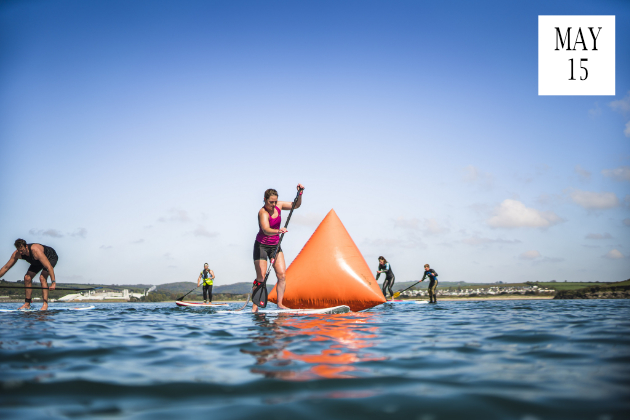 Swim SUP Run Race Cornwall 2019