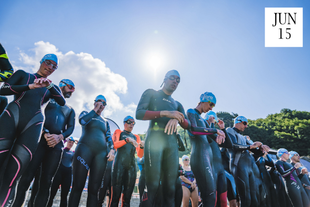 sea swim aquathlon cornwall 2019