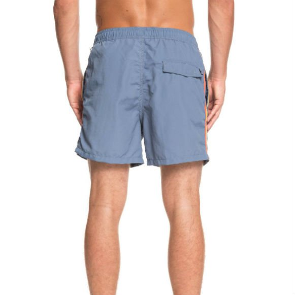 Quiksilver Blue with Coloured Piping Swim Shorts
