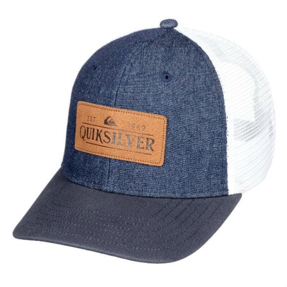 4fe839374 Quiksilver Denim Style Trucker Cap