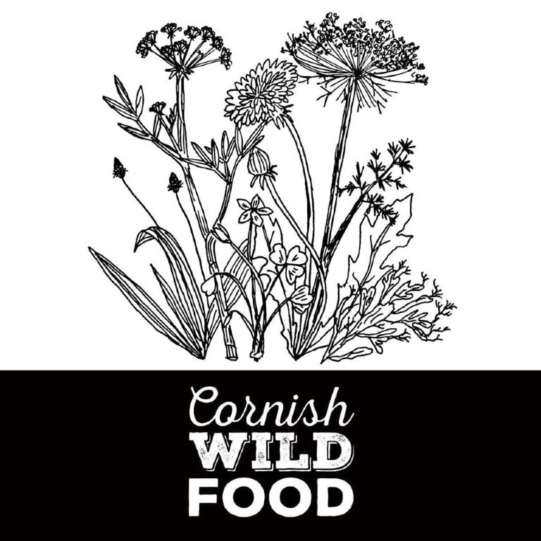 cornish wild food foraging logo
