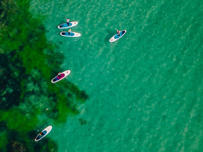 polkerris-beach-cornwall-Stand-Up-Paddle-Board-Saturday-SUP-Club