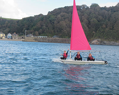 3 Stage 1 Lesson Group Sailing Cornwall