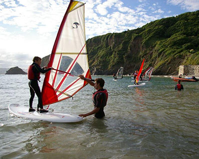 4 RYA Windsurfing Course Stage 1
