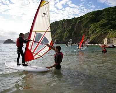 4 RYA Windsurfing Course Stage 1