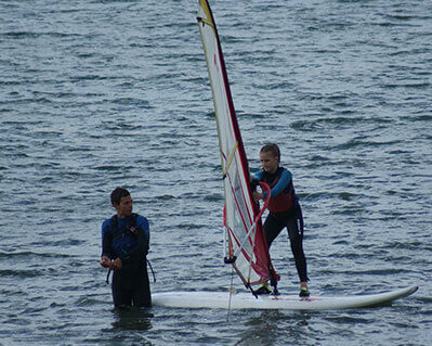 5 Back Up RYA Youth Sailing Lesson Stage 2