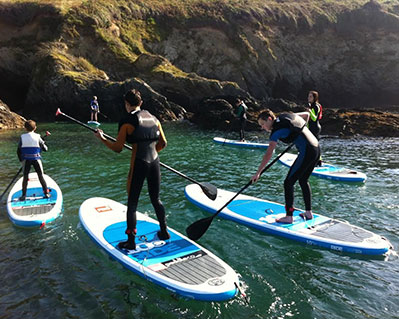 6 Locals Club SUP Cornwall