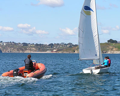 8 Sailing Lesson Cornwall RYA Level 2