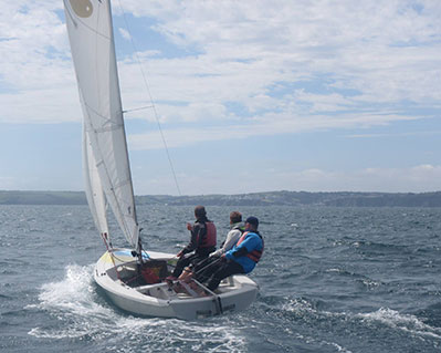 9 Sailing Lesson Cornwall RYA Level 3