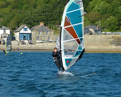9 Windsurfing Lesson Cornwall