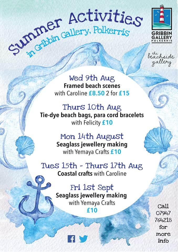 Polkerris Beach Craft Events & kids activities